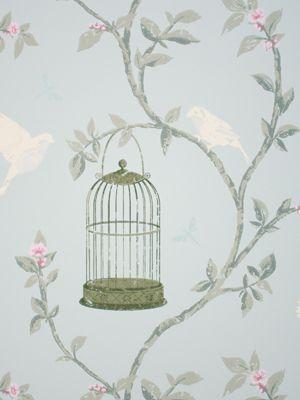 Birdcage Wallpaper Google Search Bird Wallpaper Bedroom Nina Campbell Wallpaper Birdcage Wallpaper