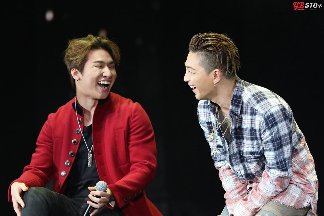 DEASUNG & TAEYANG #BIGBANG FAN MEETING IN BEIJING 010116