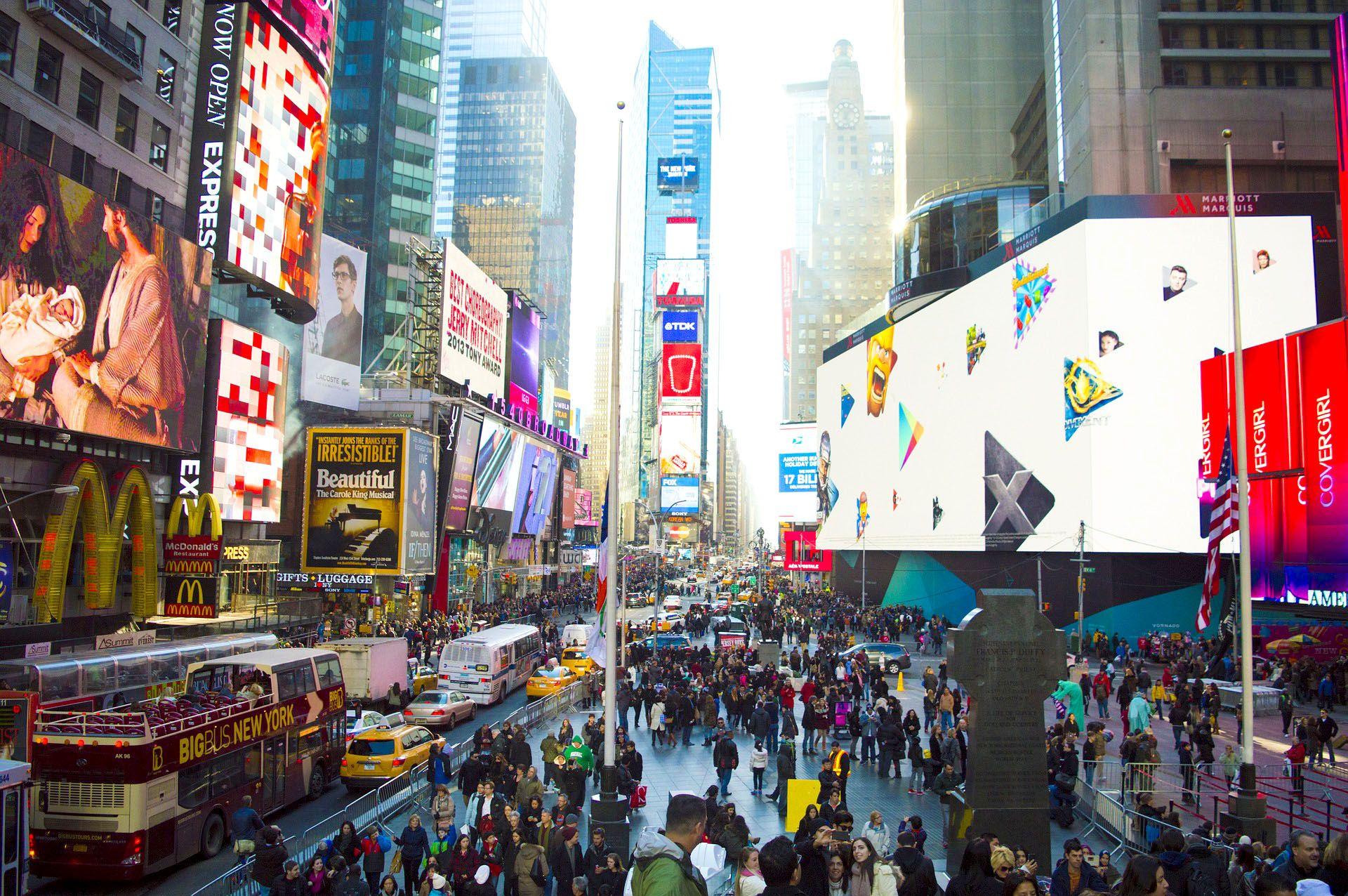 Times Square #USA #Travel #Resa #Resmål #New #York #NewYork #CIty #NYC #NewYorkCity #Times #Square #TimesSquare