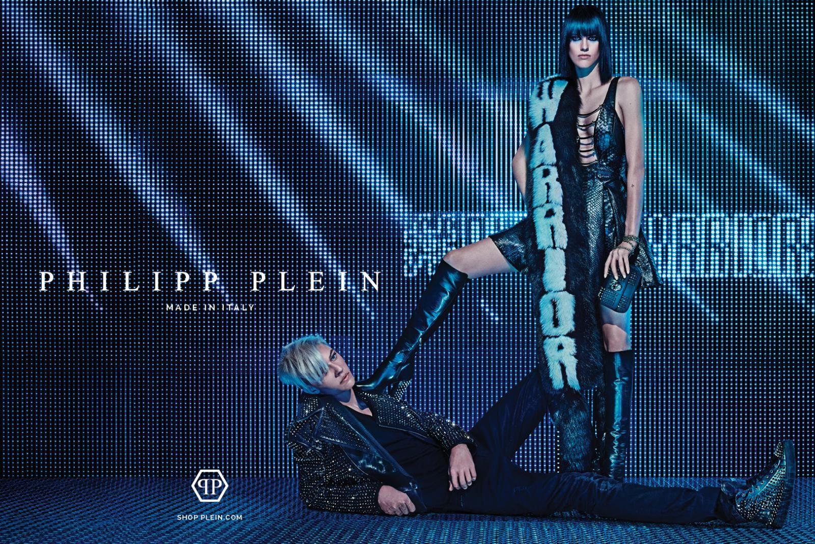 0d927bc7f605 Lucky Blue Smith For Philipp Plein FallWinter 2015 Campaign by Steven Klein  - DerriusPierreCom (4)