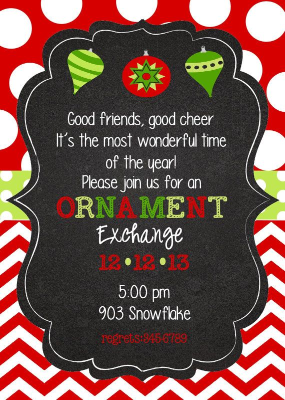 Exceptional Christmas Party Ideas For Friends Part - 10: Christmas Holiday Birthday Party By Stickerchic On Etsy, $9.50