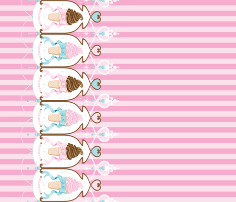 Ice Cream Dream fabric by frosted_fleur_de_lis on Spoonflower - custom fabric