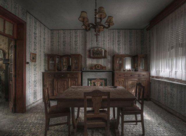 Inside An Abandoned Farmhouse