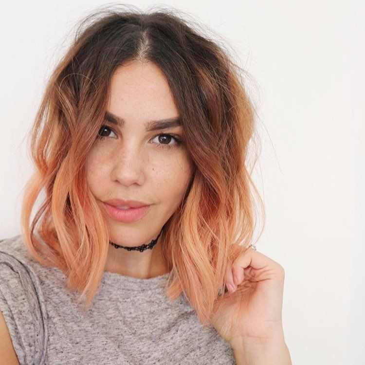 Save this for blorange hair color inspo.