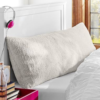 Sherpa Body Pillow Cover.Faux Fur Sherpa Body Pillow Cover In 2019 College Life