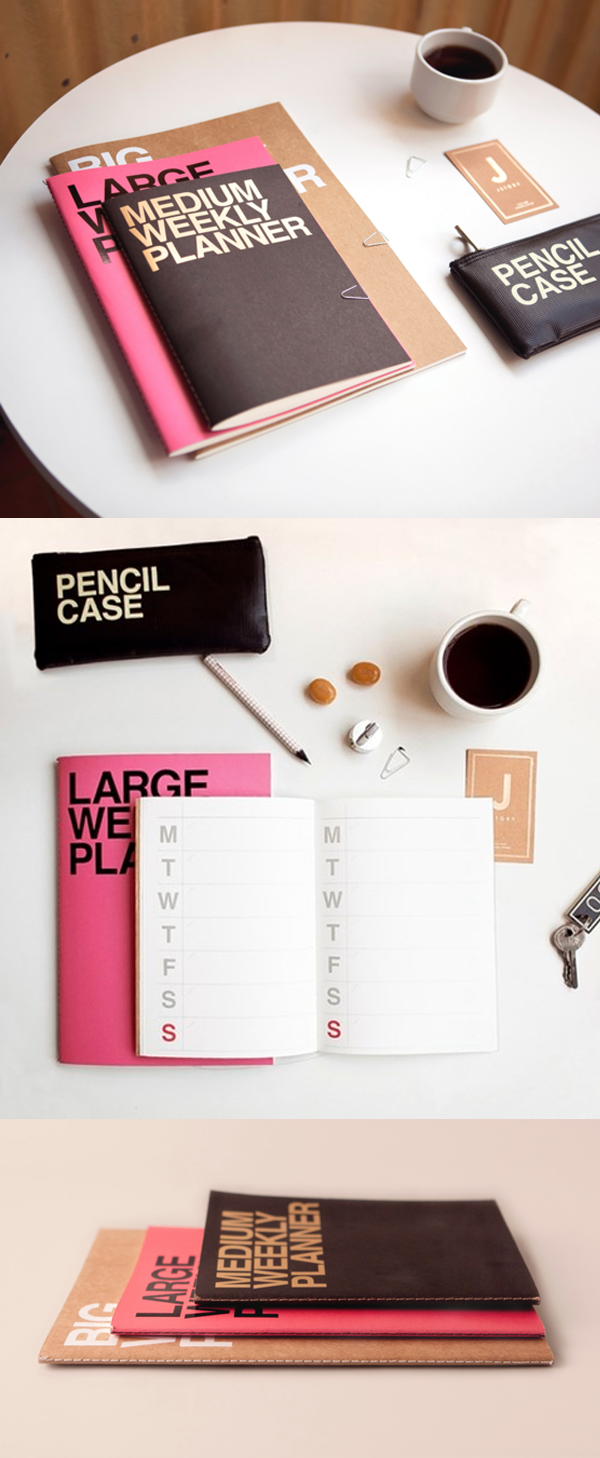 The roomy and simple weekly plan layout provides you a plenty of spaces to write! You can also decorate the planner to turn the planner into your own!