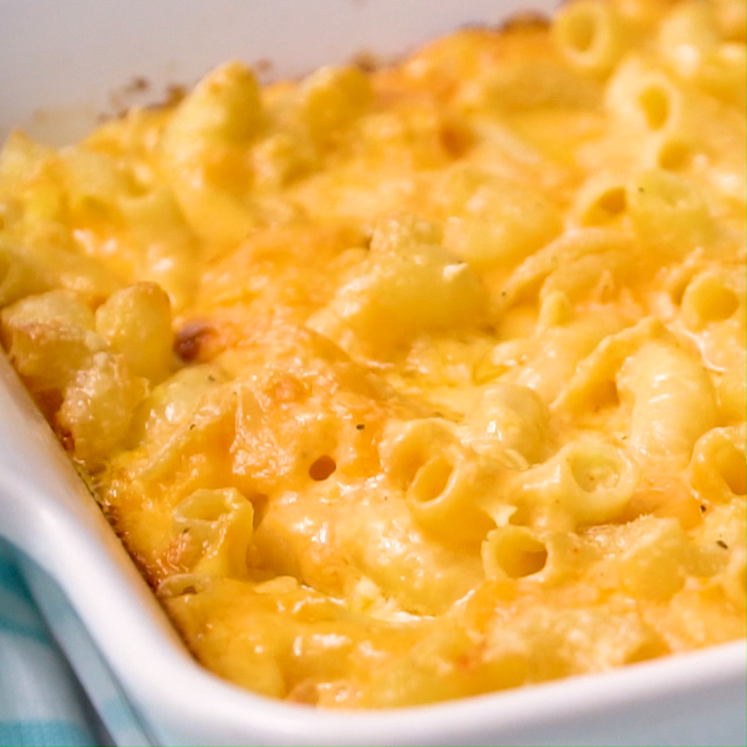 Paula Deen's Macaroni and Cheese #macandcheeserecipe
