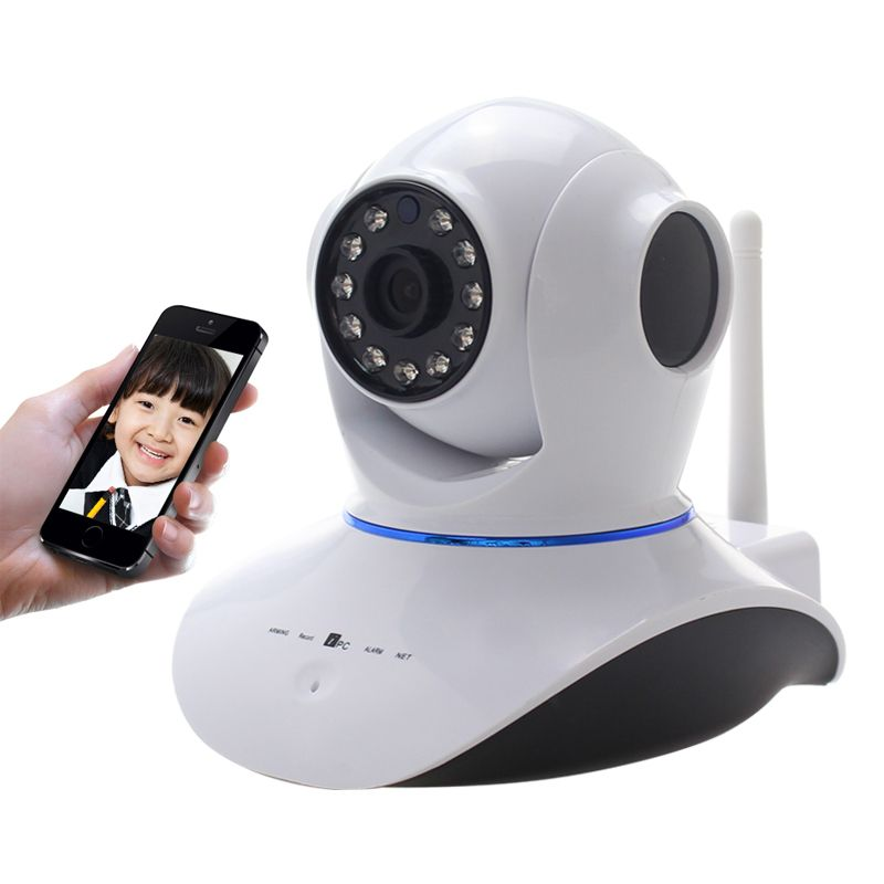 720P Wireless Pan Tilt Security Network CCTV IP Camera WIFI Webcam   jewelry 0fc6cb6a6f