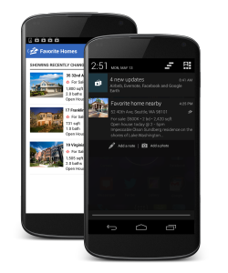 New Now, any time a shopper who has the Zillow Real