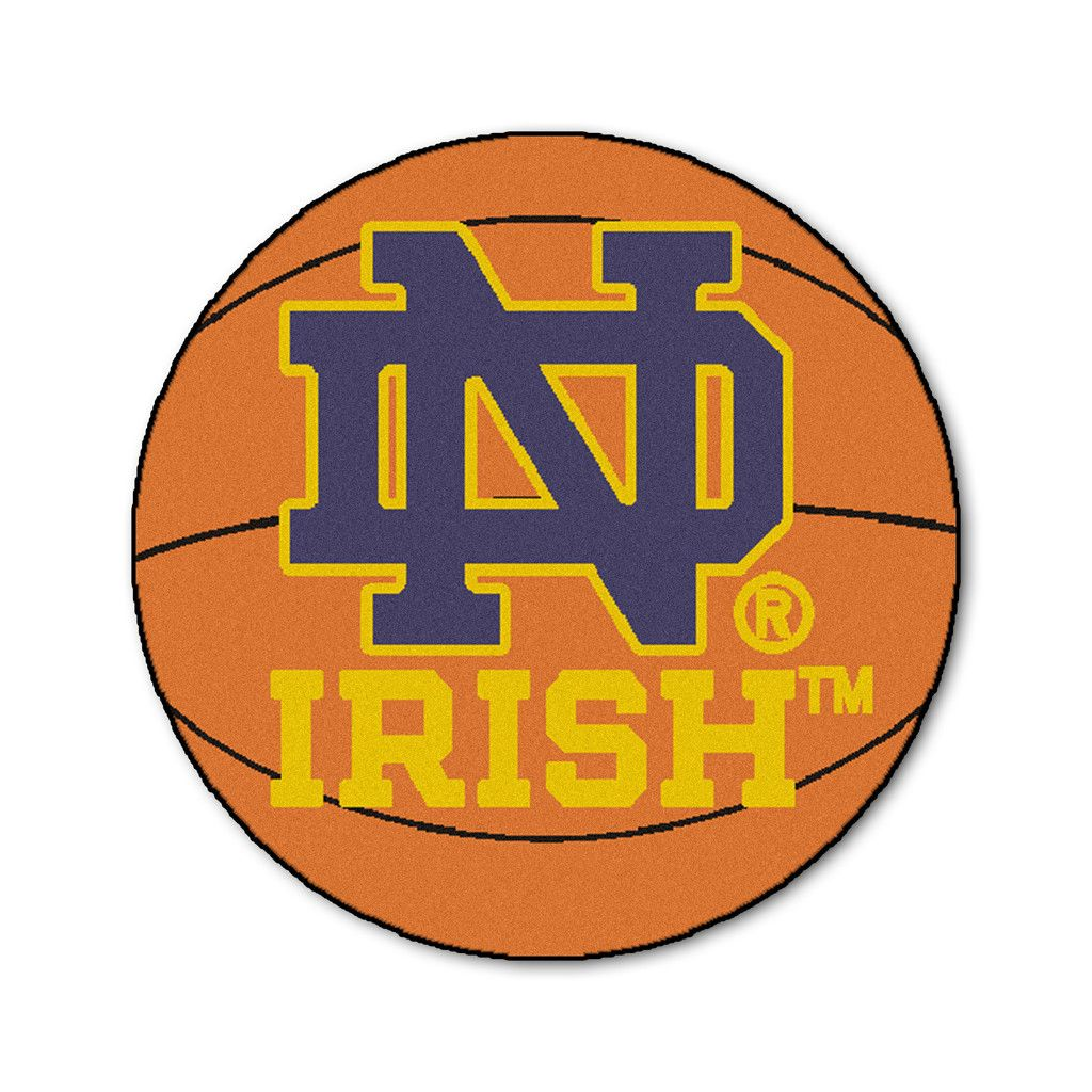 Notre dame bathroom accessories - In Irish Nation The University Of Notre Dame Basketball Area Rug Is The Perfect Accessory For