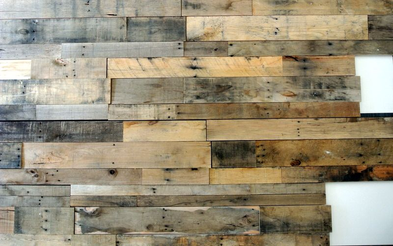 DIY Recycled Pallet Accent Wall - DIY Recycled Pallet Accent Wall Company, Tile And Flare