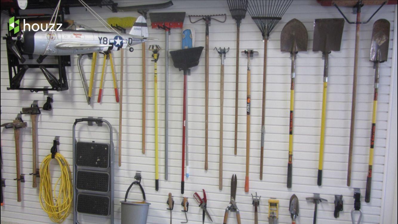 Garden equipment storage