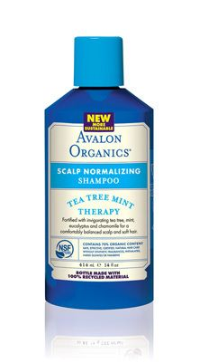 Tea Tree Mint Therapy Scalp Normalizing Shampoo By Avalon Organics Leapingbunny Certified Cruelty Free