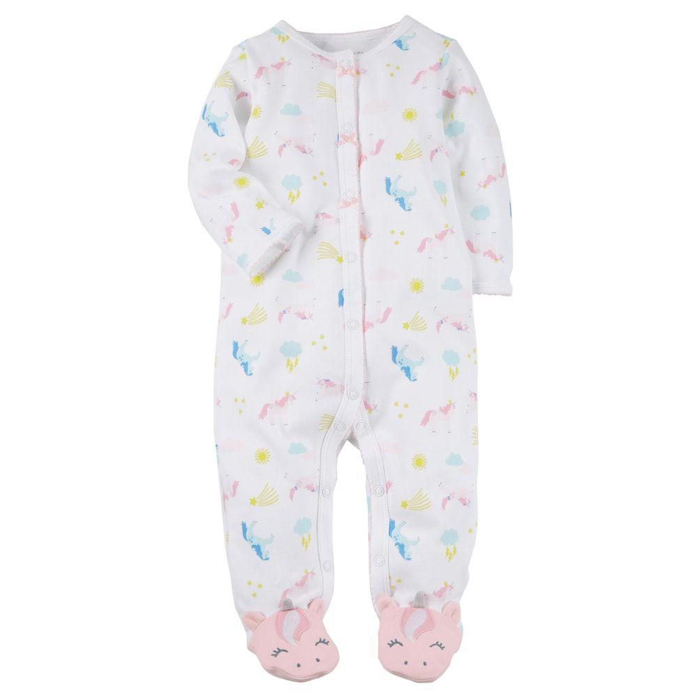 dfee4b081887 Baby Girl Carter s Unicorns Sleep   Play