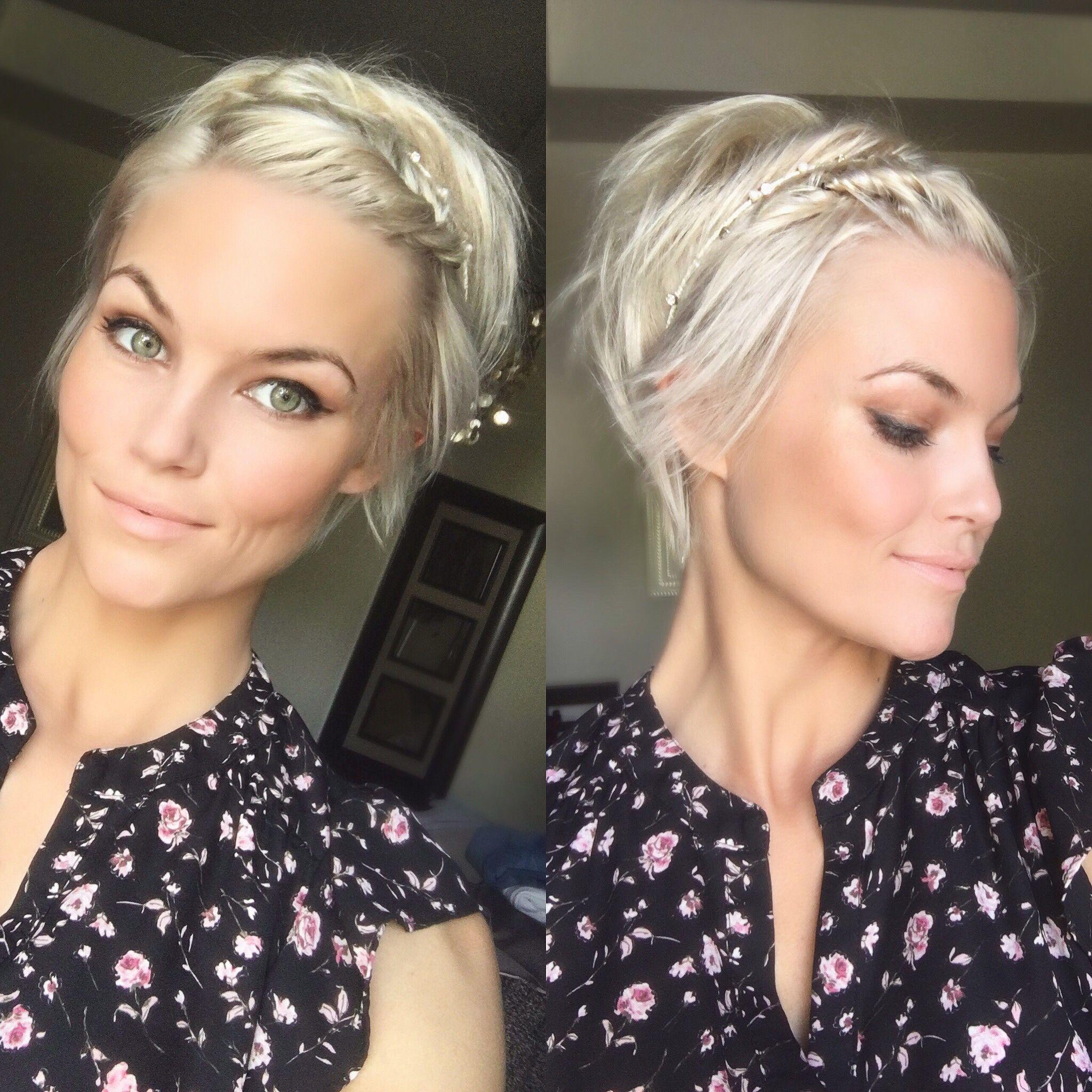 Short blonde hair krissafowles Hair Pinterest