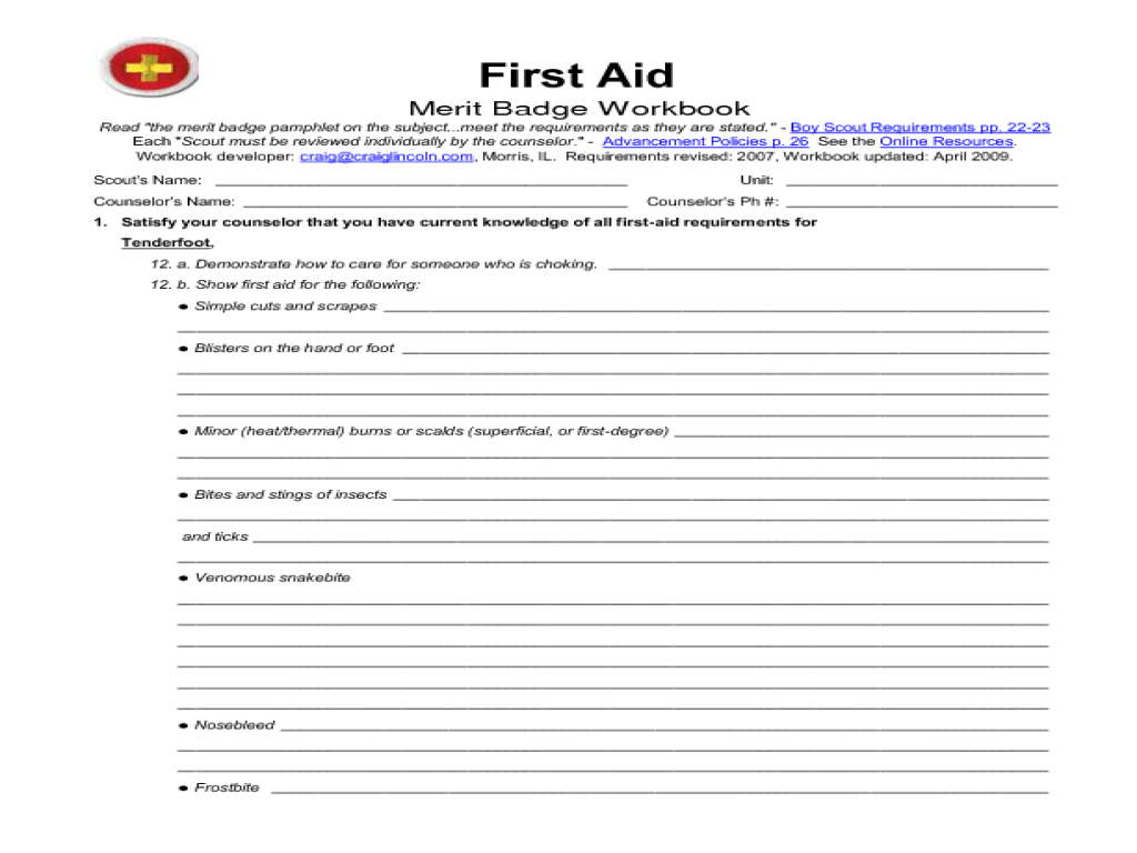 First Aid   MeritBadgeDotOrg moreover  additionally c ing merit badge worksheet 30 new c ing merit badge worksheet together with  also scout worksheets further First Aid Merit Badge Workbook   PDF additionally first aid worksheets for children – trungcollection in addition first aid worksheets further Personal Fitness Merit Badge Workout Plan   Kayafitness co besides Merit Badges   TROOP 394   CERRITOS  CA further  together with First Aid Merit Badge Worksheet Answers Unique Personal Management moreover  furthermore 28 ly Chess Merit Badge Worksheet Pictures   grahapada moreover munications Merit Badge Worksheet   cramerforcongress together with Boy Scout Cooking Merit Badge Worksheet Inspirational Take Advantage. on first aid merit badge worksheet