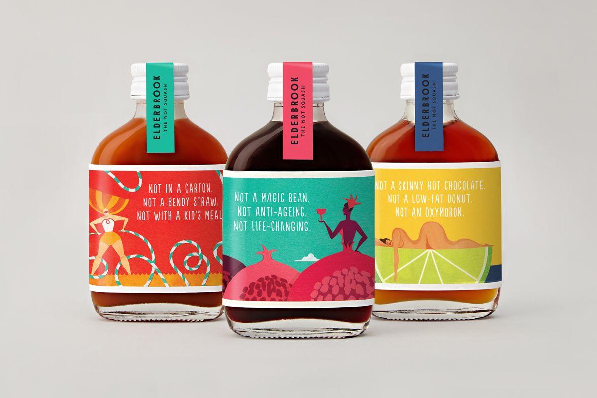 Elderbrook Candy Packaging Drinks Brands Beverage Packaging