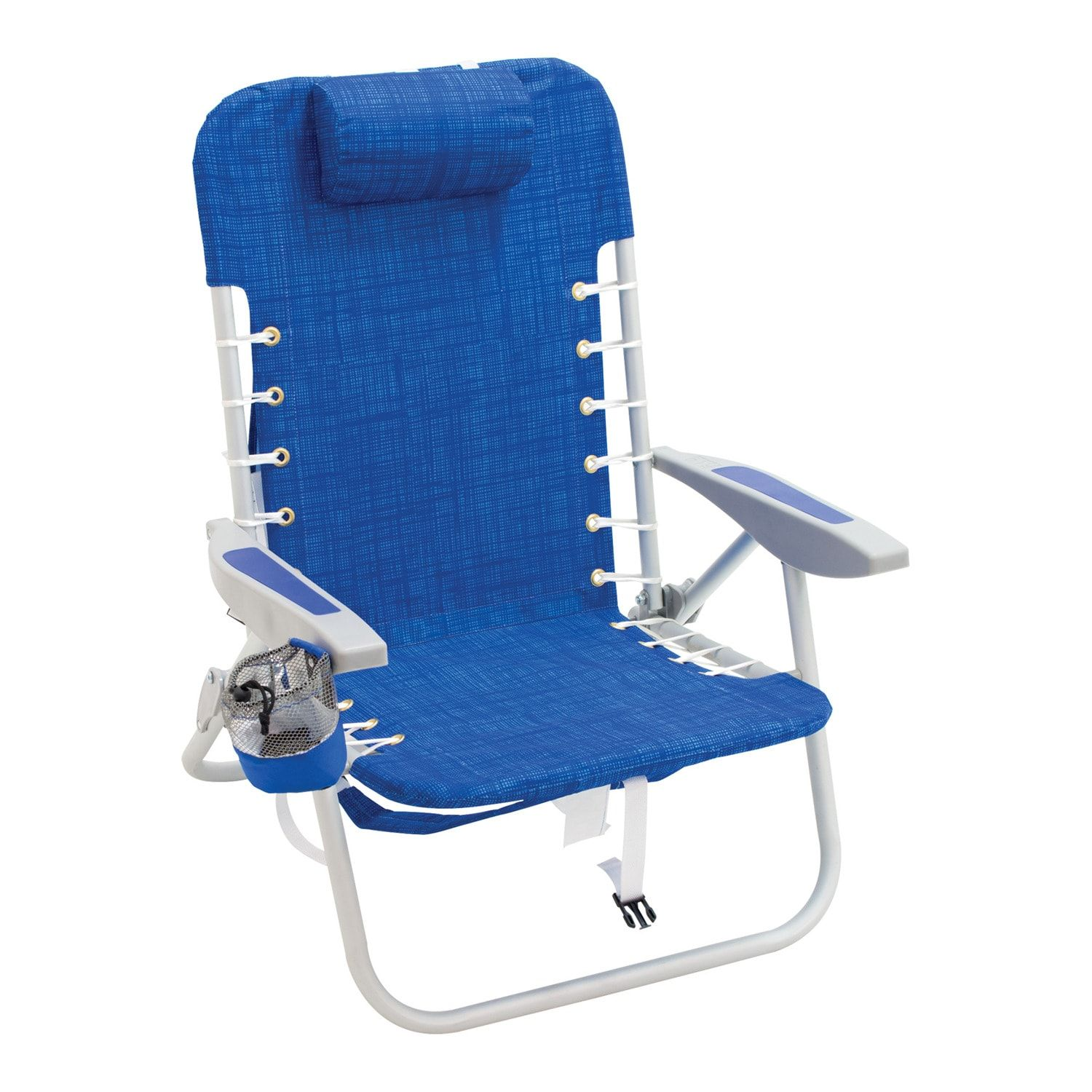 Rio Brands LaceUp Aluminum Backpack Portable Chair in