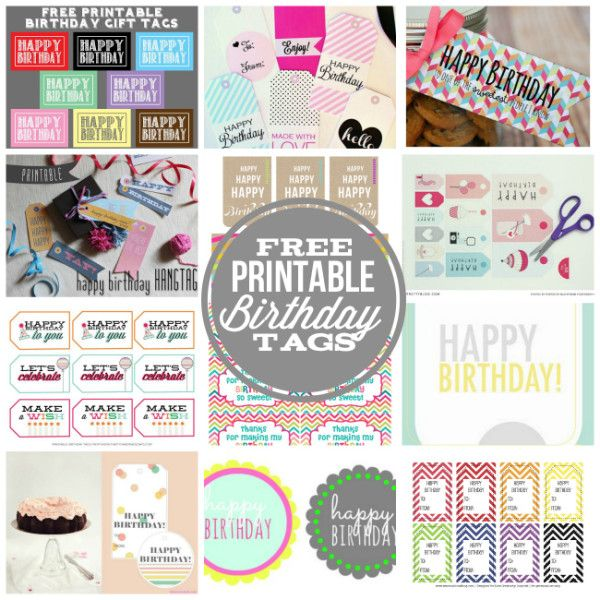 Free printable happy birthday tags for those last minute gift giving free printable happy birthday tags for those last minute gift giving needs negle Images