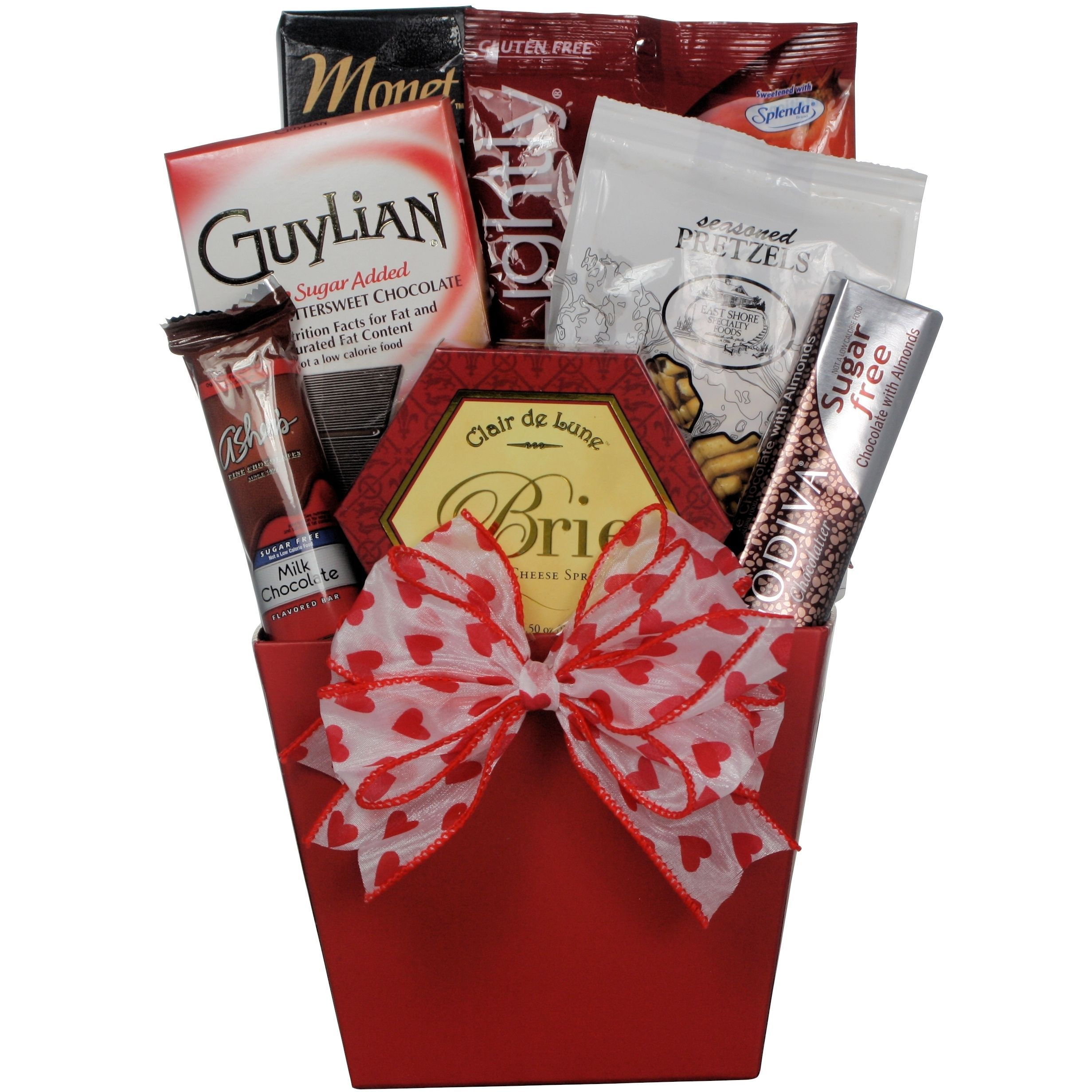 Great arrivals my sweet valentine gourmet sugar free gift basket great arrivals my sweet valentine gourmet sugar free gift basket forumfinder Choice Image