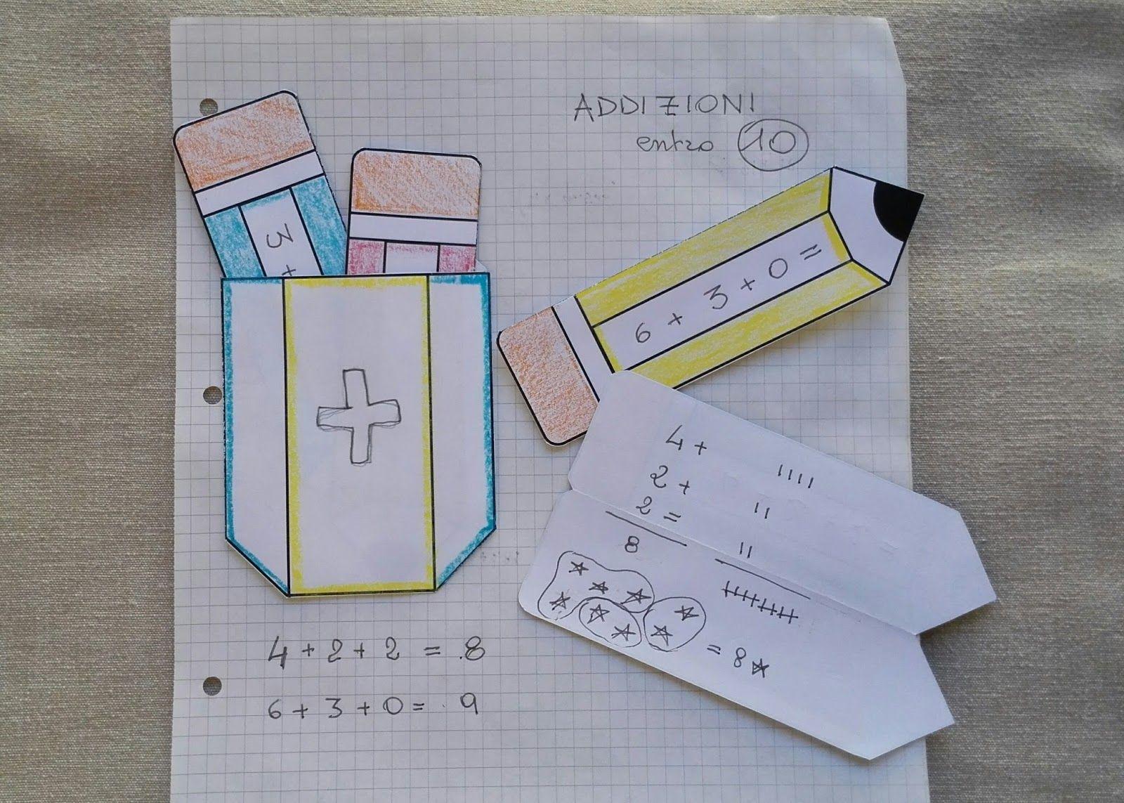 Il Pettirosso che Ride: Matematite - Template per Lapbook | lapbook ...