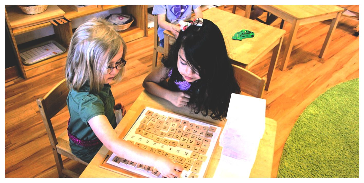 Montessori learning - Math