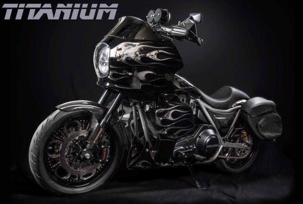 Titanium Chopper Big bear choppers, Hot bikes, Harley