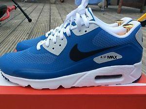 Nike Air Max 90 Ultra Essential Size 10 Uk Men's Star Blue