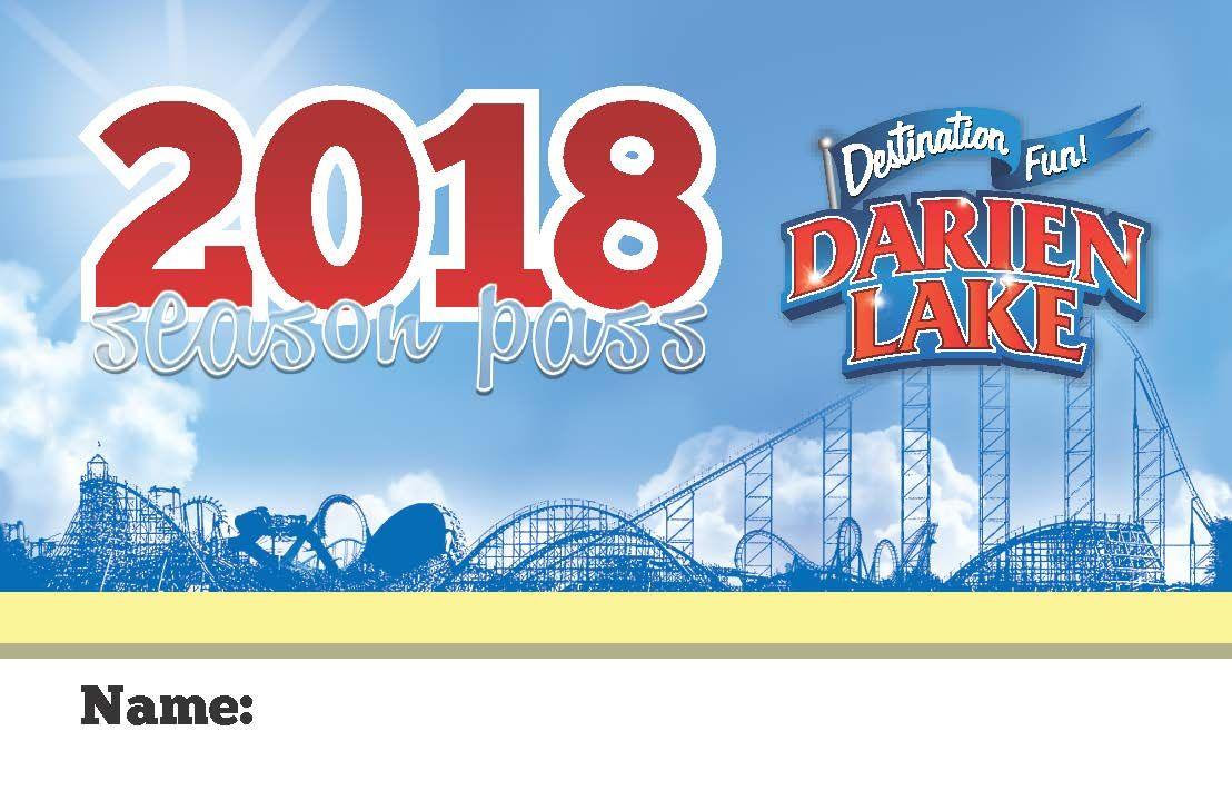 2018 Season Passes Lake Names Water Theme Park Darien Lake