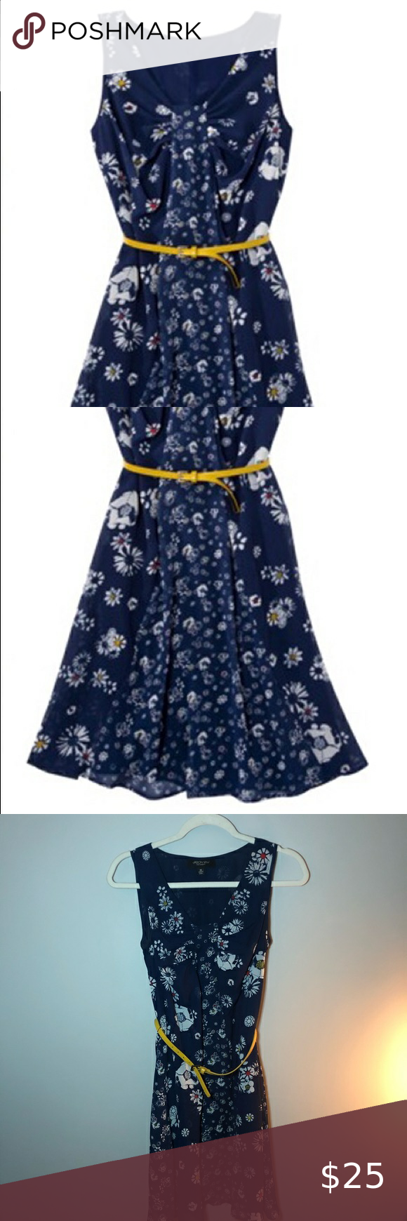 Jason Wu For Target Blue Floral Dress Xs Super Cute Blue Dress With White Flowers And A Yellow Belt Size Xs Jason Wu Dr Floral Blue Dress Floral Dress Dresses [ 1740 x 580 Pixel ]
