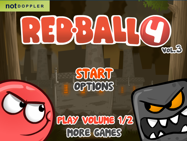Red Ball 4 Volume 3 Red ball, The amazing world of