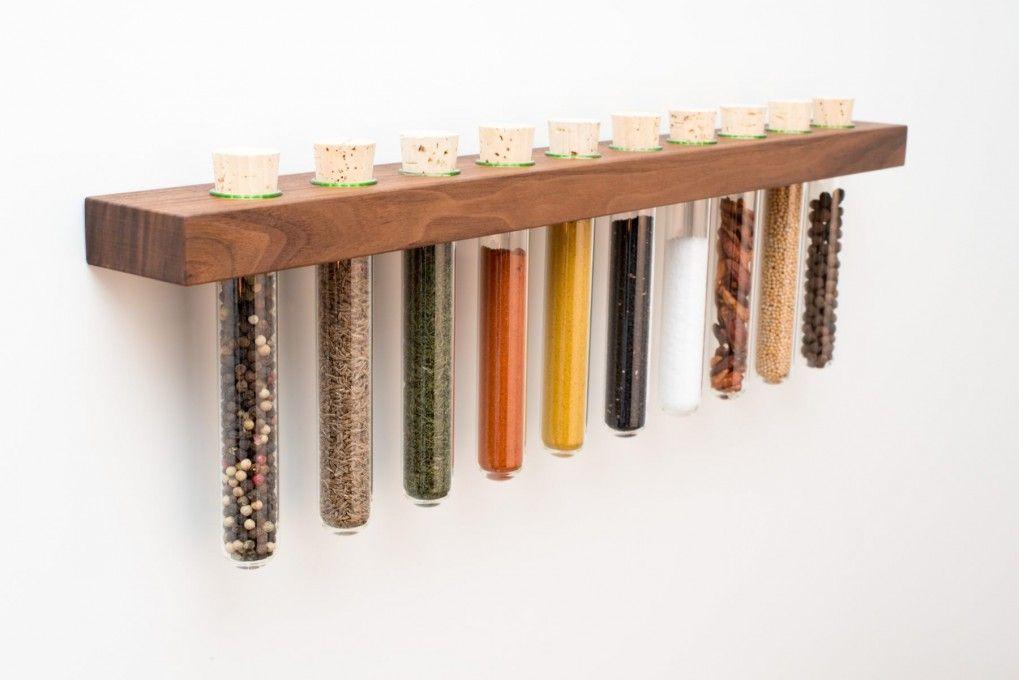 Gewürzregal Von Ikea Spice Rack Bekväm Und Holz: Kitchen Decor, Spice Jars