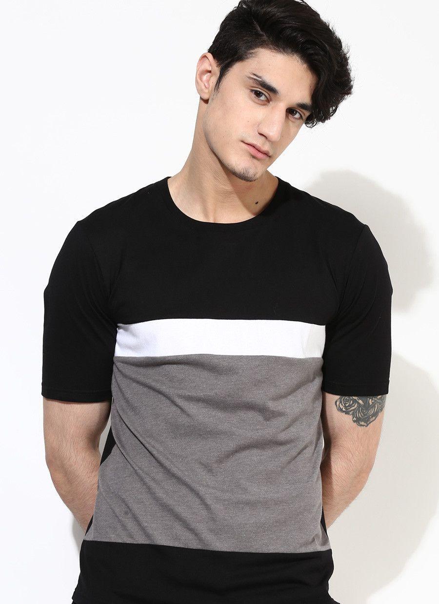68b48081410 Men s Premium Organic Cotton Four Part T-Shirt  MensT-shirts