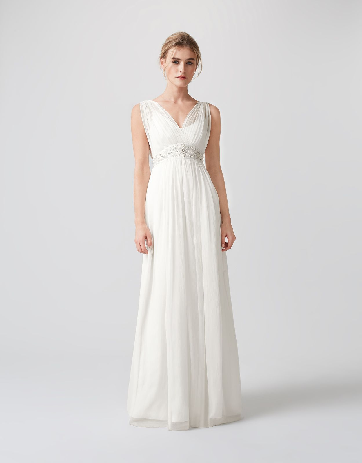 Channel boho romance in our ethereal lucia ivory wedding dress in a