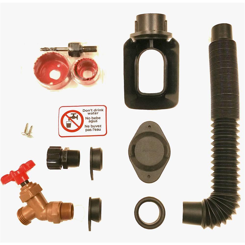 EarthMinded DIY Rain Barrel Diverter and Parts Kit for 3