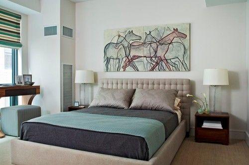 Pleasant color scheme - Duffy Design Group Master Bedroom