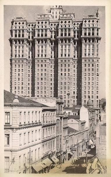 Martinelli Building - Sao Paulo, Brazil