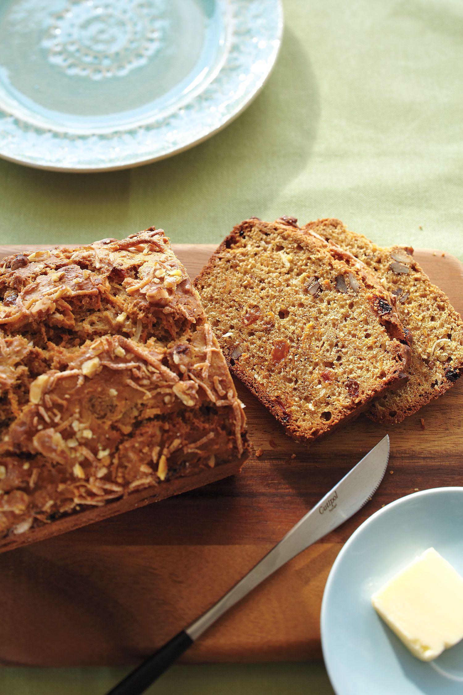 Watch Carrot-Raisin Quick Bread video