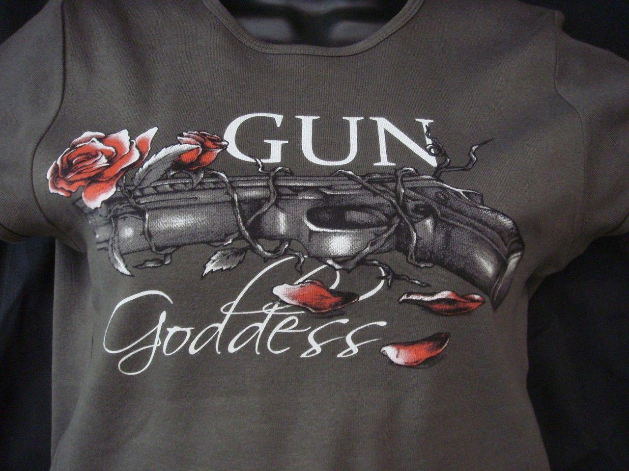 http://www.gungoddess.com/gun-goddess-ladies-t-shirt/