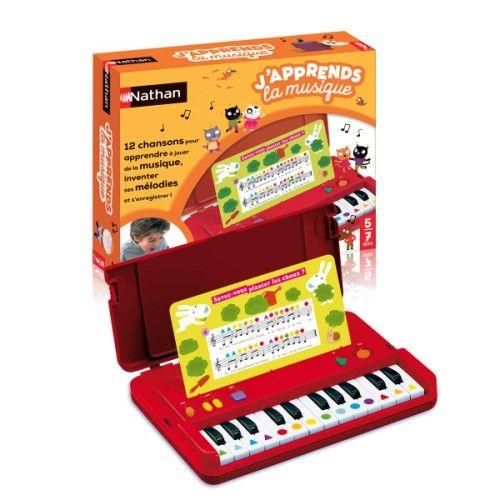 Jeu interactif J'apprends la musique Nathan (avec images)   Apprendre la musique, Piano, Jeu ...
