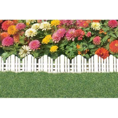 Easy Gardener 1 Ft X 10 In Plastic Adirondack Decorative Border Lawn Edging 861 At The Home Depot Lawn Edging Landscaping With Rocks Plastic Lawn Edging