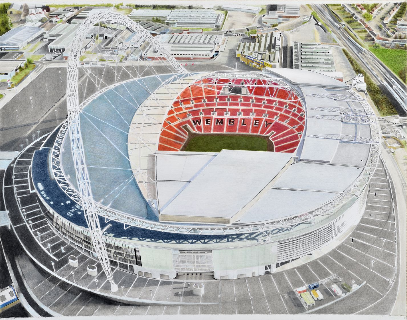 Wembley stadium home of the fa england national football team wembley stadium home of the fa england national football team by brian casey sciox Gallery