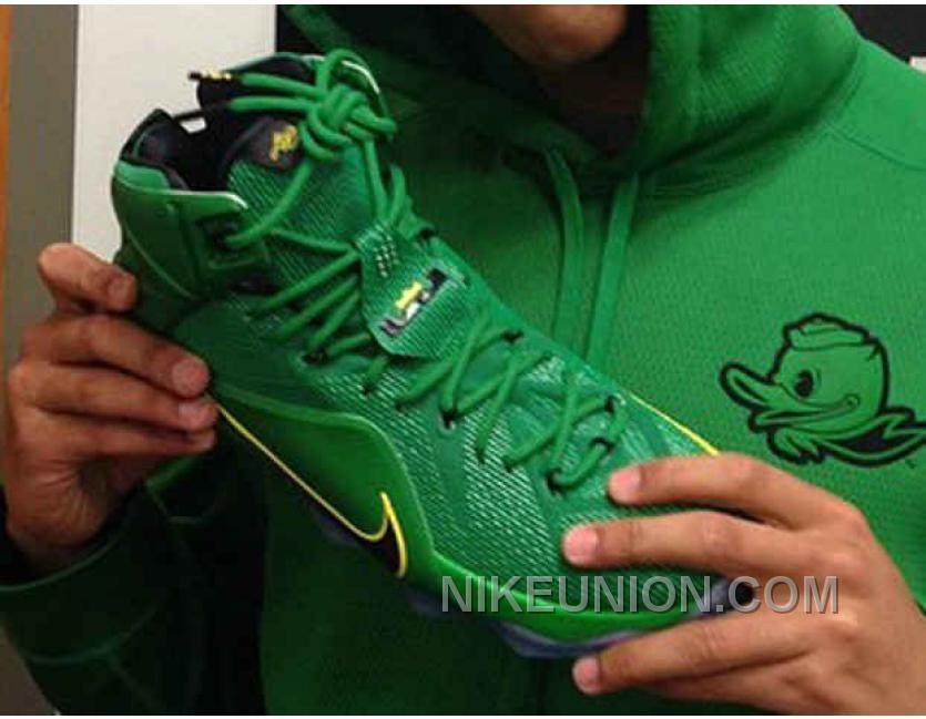 Buy Cheap Nike Lebron 12 Oregon Ducks PE