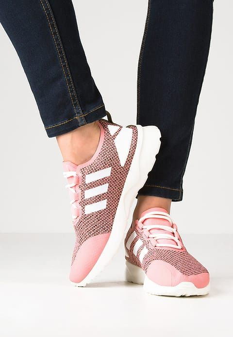 huge discount 1787d 3dc23 adidas Originals ZX FLUX ADV VERVE - Trainers - olive cargo chore white ray  pink for £51.99 (16 12 16) with free delivery at Zalando