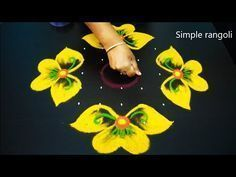 Amazing Simple Kolam art designs | Cute flower rangoli designs for diwali | 9X3X...,  #9X3X #... #rangolidesignsdiwali Amazing Simple Kolam art designs | Cute flower rangoli designs for diwali | 9X3X...,  #9X3X #amazing #art #Cute #designs #Diwali #Flower #homedecorationfordiwali #Kolam #rangoli #Simple #rangolidesignsdiwali