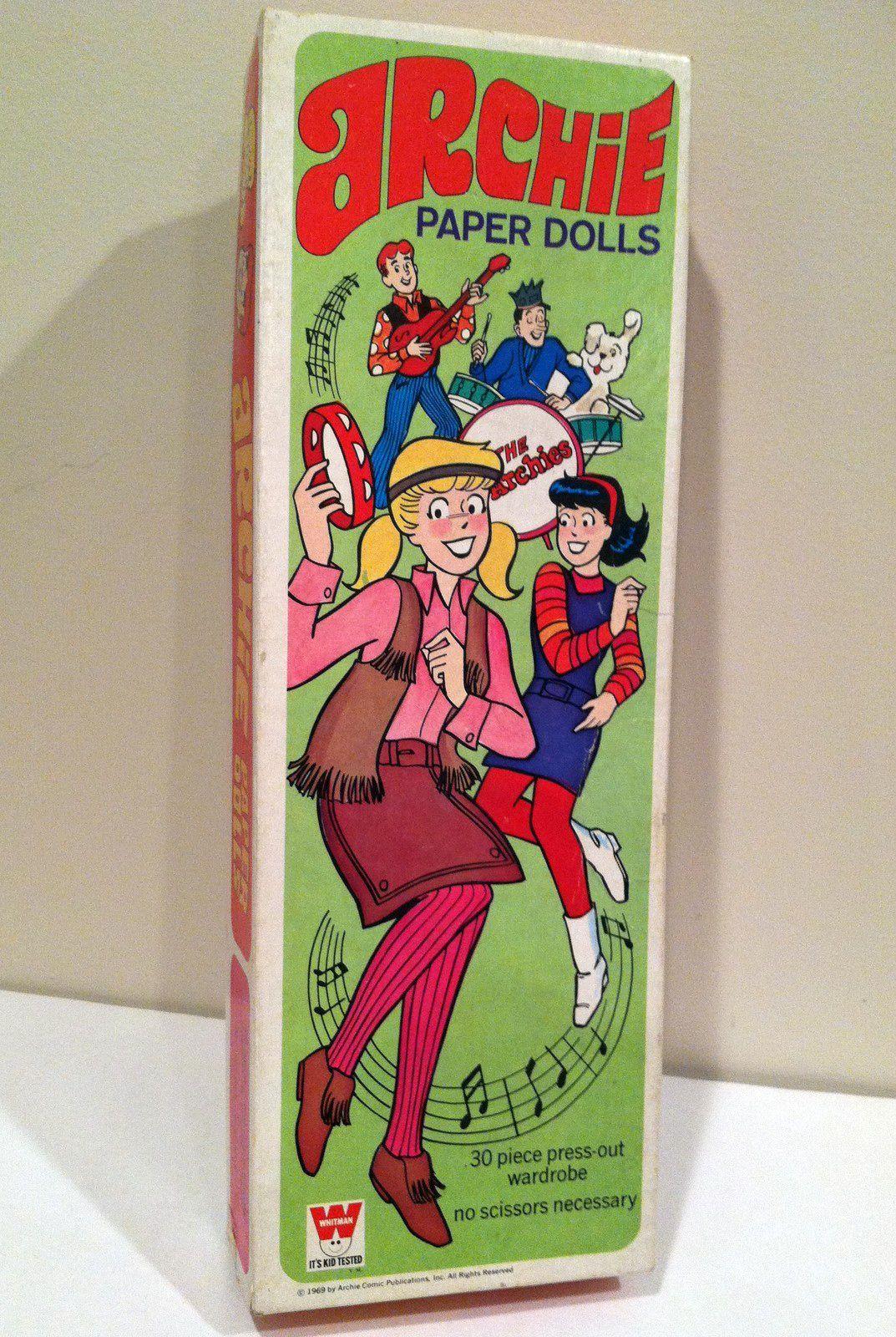 Archie paper dolls