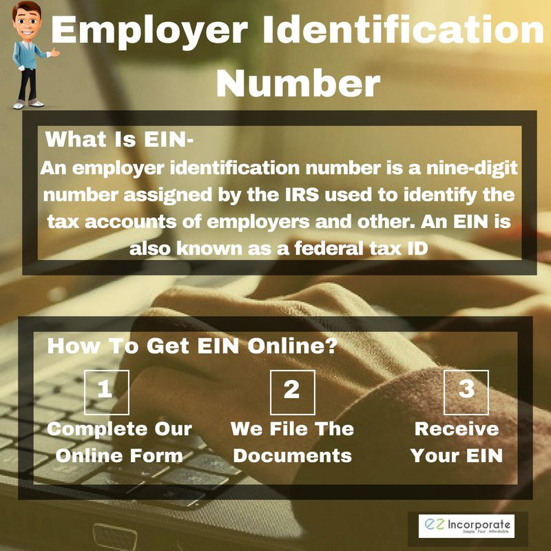 Apply employer identification number online federal tax