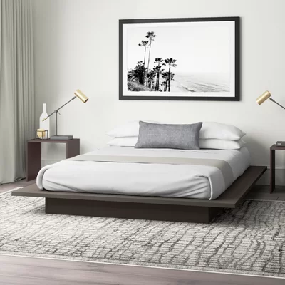 Stromsburg Queen Platform Bed Reviews Allmodern Platform Bedroom Modern Platform Bed Platform Bed Designs