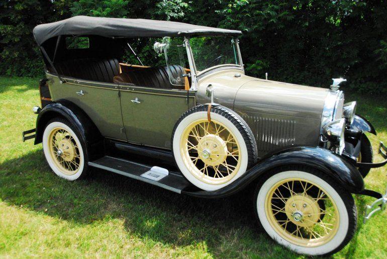 1929 Ford Model A 4 Dr Phaeton Tourer Autos Antiguos Automoviles Autos
