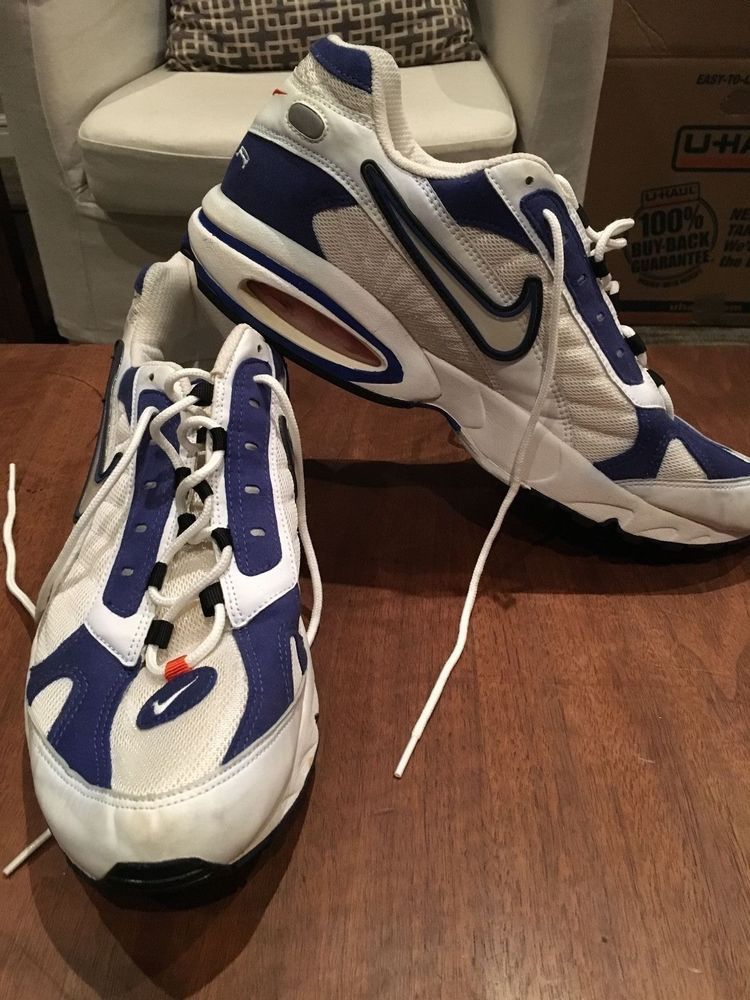 6879adccb8d1 RARE VINTAGE NIKE AIR MAX TRIAX SERIES TENNIS SHOES AUTHNTIC RUNNING  WALKING 15 (eBay Link)